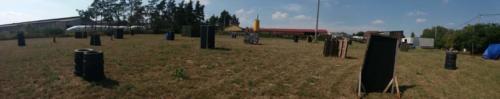 Panorama hřiště